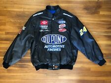 Jeff Hamilton Design Racing Leather Jacket NASCAR Jeff Gordon DUPONT 2XL NWT USA