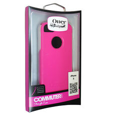 OEM NEW OtterBox Apple iPhone 5 Pink/White Commuter Case w Screen Protector RET