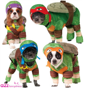 DOG TEENAGE MUTANT NINJA TURTLE PET COSTUME NOVELTY GIFT