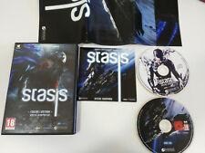 STASIS EDICION LIMITADA + BSO + POSTER JUEGO PARA PC DVD-ROM ESPAÑOL DAEDALIC