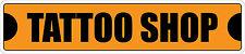 """*Aluminum* Tattoo Shop 4"""" x 18"""" Metal Novelty Street Sign  SS 3464"""