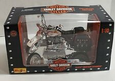Harley Davidson Maisto Motorcycle Bike FLSTS Heritage Springer Collection  1:10