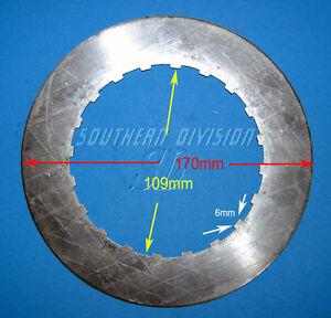 Ariel Panther Burmann gearbox Clutch steel plate 3370-36 Kupplungsstahlscheibe