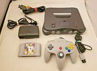 Nintendo 64 N64 Console Bundle w/ OEM Controller & Game - TESTED WORKING! N642