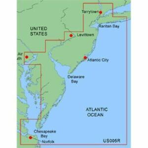 Garmin BlueChart NEW YORK - NEW JERSEY MUS005R Data Card Marine Chart Map Chip
