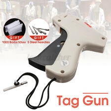 Clothes Socks Regular Garment Price Label Tagging Tag Gun 1000 Barbs+5 Needles