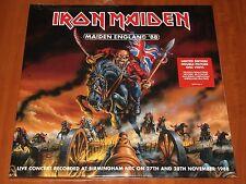 IRON MAIDEN MAIDEN ENGLAND '88 LIVE 2x LP PICTURE DISC VINYL EU EMI PRESSING New