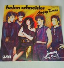 "Single 7"" Vinyl Helen Schneider - Angry Times Jimmy Cindy i don´t WEA 1982"