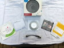 Creative ZEN Mozaic LX Installation Guide CDROM Quick Start Guide OEM Sync Cable