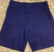 """""""A*"""" JUSTICE size 8 youth shorts soft navy"""