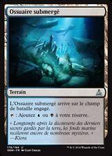 MTG Magic OGW FOIL - Submerged Boneyard/Ossuaire submergé, French/VF