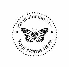 Personalized Custom Made Mounted  rubber stamp hs03