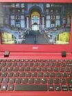 "Acer Aspire Es1-132 Red 11.6"" Notebook 4gb Memory 120gb Ssd Windows 10"