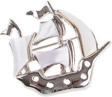 Retro SHIP Matrosen Schiff Brosche / Pin Rockabilly