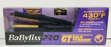 """Babyliss Pro GT Gold Titanium Mini Crimper Crimping 5/8"""" MODEL BABGT3152"""