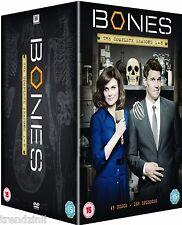 Bones - Season 1-8 [DVD] Box Set Complete Seasons 1 2 3 4 5 6 7 8 | New & Sealed