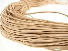 Lederschnur Rund 1,5 mm. Lederband. Farbe/Länge: wählbar