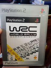 WRC World Rally Championship  (no booklet) PLAYSTATION 2 PS2 - FREE POST