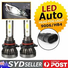 Pair Automotive 9006/HB4 LED Lights Headlight Bulbs Low Beam/Fog Lamp 6000k 72W
