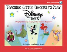 Teaching Little Fingers to Play Disney Tunes Bk Audio Early to Mid-Ele 000416749