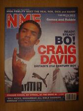 NME 2000 JUL 22 CRAIG DAVID GRAHAM COXON EMBRACE GOMEZ