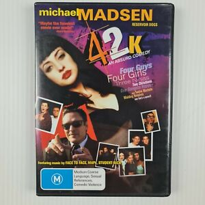 42K DVD - Michael Madsen - Aaron Bruno - Region 4 - TRACKED POSTAGE