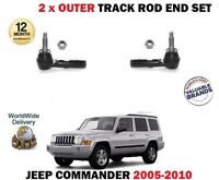 Para Jeep Commander 2005-2010 2x Dirección Externa Rastrear Terminal de Set