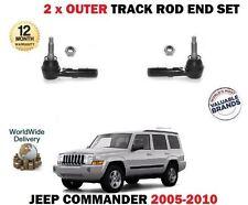 Per JEEP COMMANDER 2005-2010 2x Sterzo Pista Esterna Rod Rack Set di fine