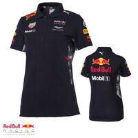 Puma Red Bull F1 Team Womens Ladies Polo Shirt Austin Martin Tag Heuer Authentic