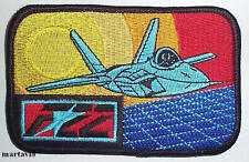 US. Air Force `F-22` Aircraft Cloth Badge / Patch (A3)