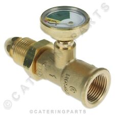 LP LPG PROPANE BOTTLE GAS LEVEL DIAL INDICATOR AND LEAK TESTER SAFETY FITTING