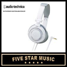 AUDIO TECHNICA ATH SJ55 WHITE POTABLE HEADPHONES NEW AUTHORISED DEALER ATHSJ55