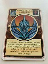 Doomtrooper Fortification: Zitadelle von Algeroth *German* Mutant Chronicles CCG