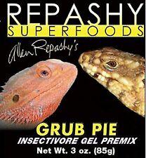 New listing Repashy Grub Pie 12 oz 340 g Bearded Dragon Tegu Monitor Skink Reptile Lizard