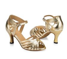 women's adult Latin dance shoes female high-heeled soft outsole ballroom dancing