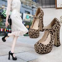 Peep-toe High Heels Chunky Heel Black Crossdresser Trans Gay Shoes Plus Size