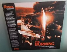 The Burning Rick Wakeman 1981 ORIGINAL SOUNDTRACK Vinile Lp Ristampa