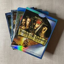 Pirates of the Caribbean 4-Movie Collection (Blu-ray)