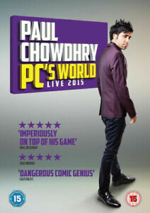 Paul Chowdhry: PC's World Live 2015 Dvd Brand New & Factory Sealed (2015)