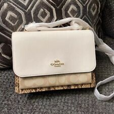 NWT COACH Klare Crossbody In Blocked Signature Canvas #1424