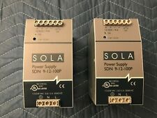 Lot Of 2 Sola Sdn 9 12 100p 12 Volt 9 Amp Dc Power Supply