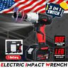 10000mAh 88VF Electric Cordless Impact Wrench High Torque Drill Screwdriver US