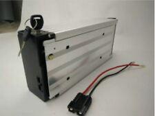 24V 20ah Li-ion Rechargeable Ebike Battery W/ Rear Rack Case & Charger