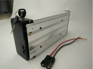 24V 20ah Li-ion Rechargeable Ebike Battery W/ Rear Rack Case & Charger