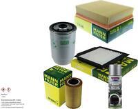 MANN-FILTER Paket + Presto Klima-Reiniger für Land Rover Range II LP