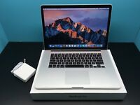 "Apple MacBook Pro Retina 15"" / 2.3GHz i7+16GB RAM / OSX-2017 / HUGE 512GB SSD"