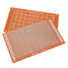 10er DIY Prototype Prototyp Papier fr4 Universal PCB Matrix Circuit Board 9x15cm