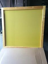 "Silk Screen Frame- 65x65"" -230 yellow mesh for Sign Makers"