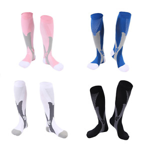 Sports Men Women Cycling Compression Socks Football Riding Running Stockings