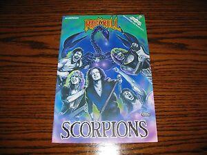 SCORPIONS - Rock N Roll Comic Book!!